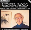 CD Lionel Rogg -  Portrait of a free composer - Suite for flute solo - 1992